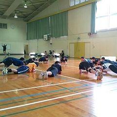 中学生のバレーボール指導