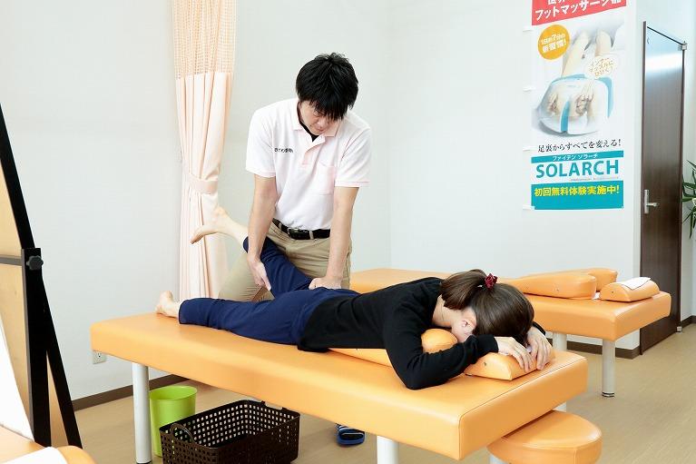 得意分野のスポーツ障害・外傷で結果を出します。